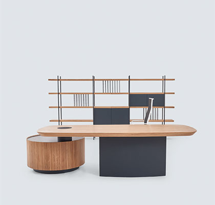 Plan - Exeutive Desks