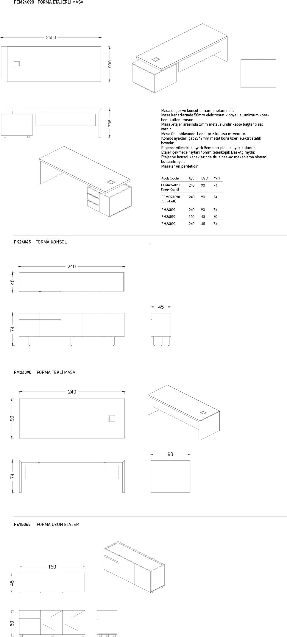 Forma - Teknik Çizim