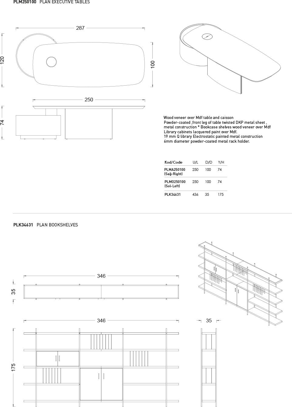 Plan - Teknik Çizim